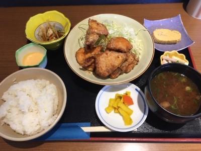 IMG_3428唐揚げ定食